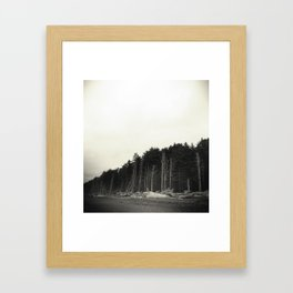 Rialto Beach Framed Art Print