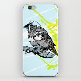 Sparrow me iPhone Skin