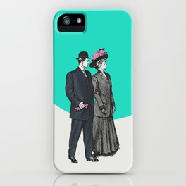 Sunday Stroll iPhone Case
