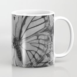 Monarch over Aster Coffee Mug