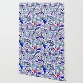 Kamasutra LOVE - Ultraviolet Purple Blue Wallpaper