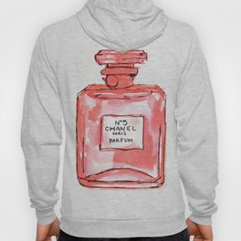 perfume red Hoody