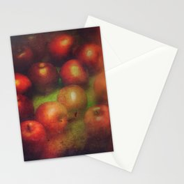 Once Upon a Time a Red Apple Stationery Cards
