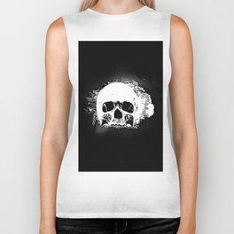 Skull Face Biker Tank