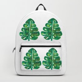 Stay Wild Monsteras Backpack
