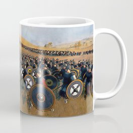 Medieval Army in Battle Coffee Mug