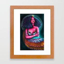 The Goddess: Isis Framed Art Print