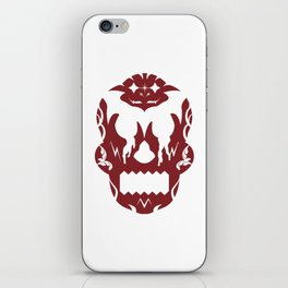 Bloody Sugar Skull iPhone Skin