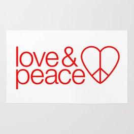 Love & peace Rug