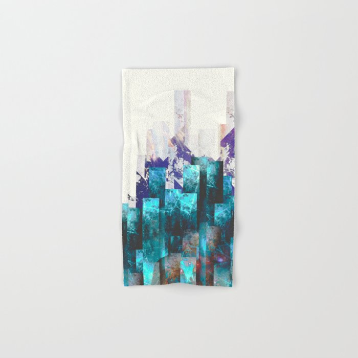 Cold cities Hand & Bath Towel