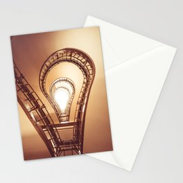 Lightbulb Stairs Stationery Cards