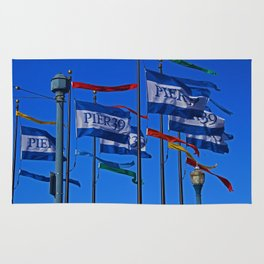 The Flags at Pier 39 Rug