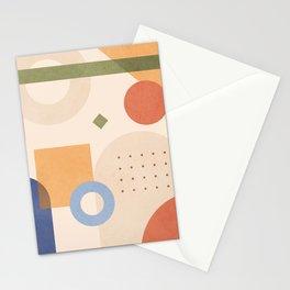 Modern Geometry Design 05 Stationery Cards