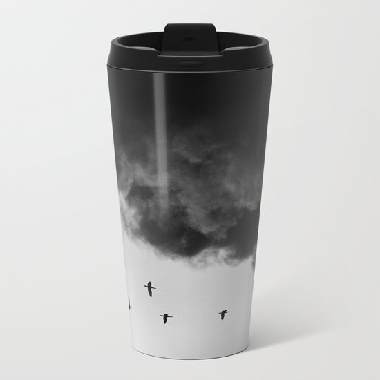 Bird migration Metal Travel Mug