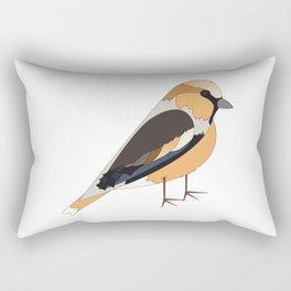 Hawfinch Rectangular Pillow