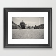 The equilibrist Framed Art Print