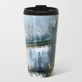 Watercolor Tower Bridge Travel Mug