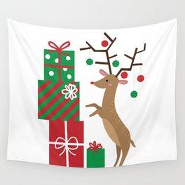 Reindeer Wall Tapestry