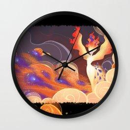 Infernal dance Wall Clock