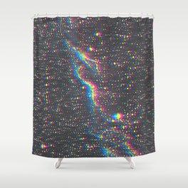 Warp Speed Shower Curtain