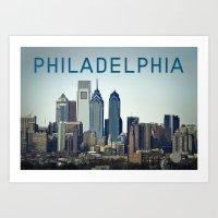 philadelphia Art Prints featuring Philadelphia by photogenome | by billy heemer
