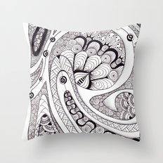 Koru 1 Throw Pillow