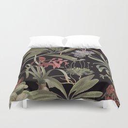Dark Botanicals (pillow variant) Duvet Cover