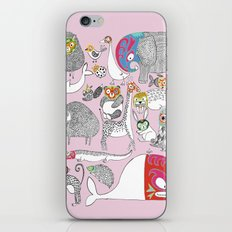 Animales Luchadores iPhone & iPod Skin