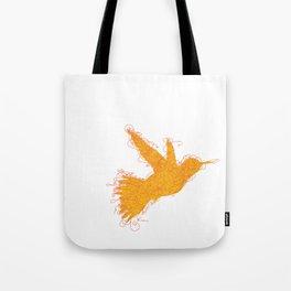 Bird Fly No. 1  (orange) Tote Bag