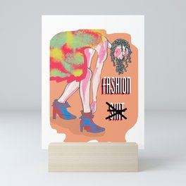 Savor's Fashionista (Fashion Sh*t)  Mini Art Print