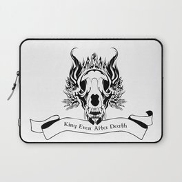 King Even After Death Laptop Sleeve
