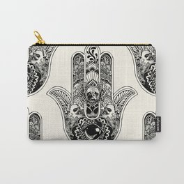 Hamsa Hand Frenchie Carry-All Pouch