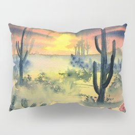 Desert Twilight Pillow Sham