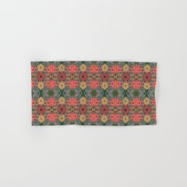 FLORAL SNEAKY SNAKES Hand & Bath Towel