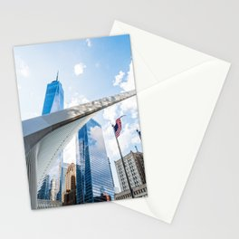 One World Trade Center and Oculus in New York Stationery Cards