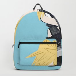 Blue Cloud with Sword Backpack