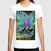sail T-shirts featuring Rainbow Sail by BeachStudio
