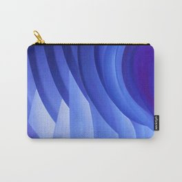 Walking Through Blue Carry-All Pouch