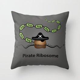 Pirate Ribosome Throw Pillow