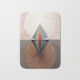 Hilma af Klint Group IX/SUW The Swan No. 12 Bath Mat