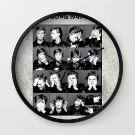 David Bowie : Sound and Vision Wall Clock
