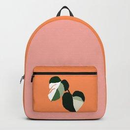 Variegated Monstera Backpack