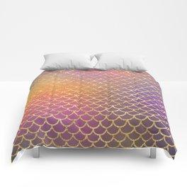 Bling Purple & Pink Pattern Comforters