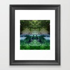 13-05-15 (NOLA Yard Glitch) Framed Art Print