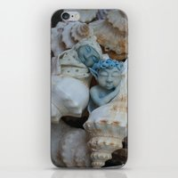pixies iPhone & iPod Skins featuring Sea pixies by Tracey Burgun