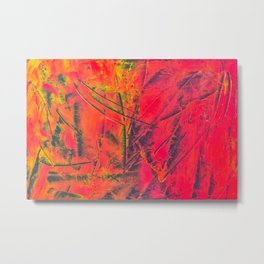 Abstract Painting 02 Metal Print