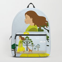 A trip with my giraffe Backpack