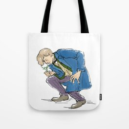 A Boy and His Bowtruckle Tote Bag