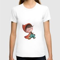 red riding hood T-shirts featuring Red Riding Hood by Antoana Oreski Illustration