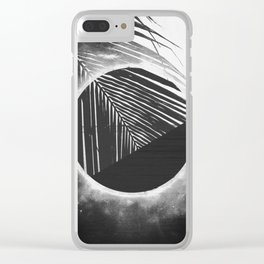 Solar Palm One Clear iPhone Case